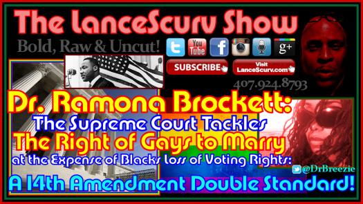 Ramona Brockett Gay Rights Voting Rights Graphic