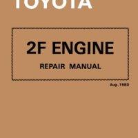 Toyota 2F Engine Repair Manual: Aug. 1980