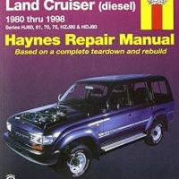 Toyota Land Cruiser Australian Automotive Repair Manual: 1980-1998 (Haynes Automotive Repair Manuals)