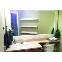 Small Crop Of Floating Shelf For Bathroom