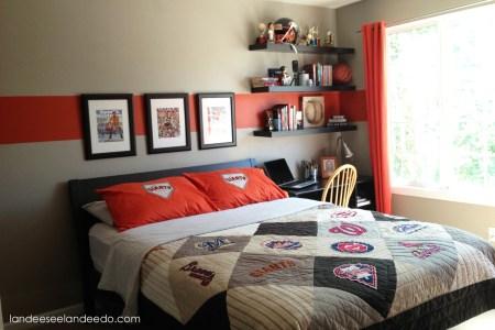 teen boy bedroom reveal landeelu.com