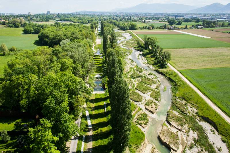 Phantasy Fabio Chironi Renaturation River Geneva Landscape Architecture Australian Rural Landscape Design Rural Landscape Design Nz