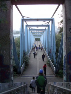 Morgenwanderung durch Köln: Mediapark