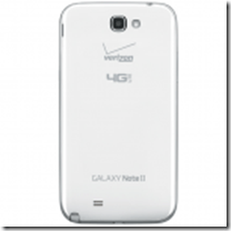galaxy note ii logo back