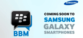 BBM To Start it's Android Life as Samsung Galaxy Exclusive?