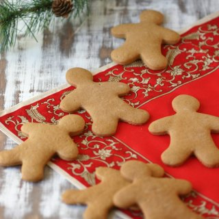 A Vegan Gingerbread Cookies recipe with spices, molasses, and both fresh and dried ginger for a double punch of flavor.