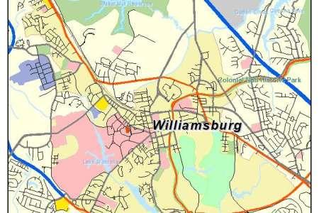 Map williamsburg 1298 thumbnail 1024 williamsburg va 5186160 map gumiabroncs Gallery