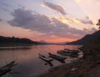 Sunset over the Mekong River, near Luang Prabang, Laos, Photo: Jason Devitt/Flickr