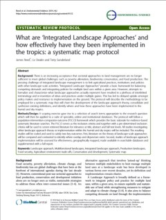 systematic map publication