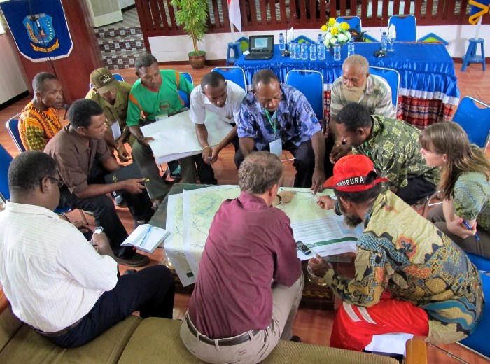 Land use planning Papua