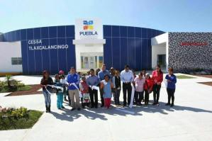 Rafa Moreno Valle inaugura Centro de Salud con Servicios Ampliados en Tlaxcalancingo