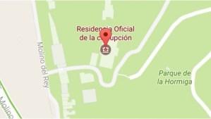 Usuario renombró residencia de Los Pinos, aclara Google Maps