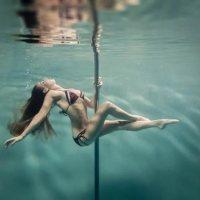 Underwater Pole Dancing