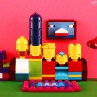 Mini-LEGO-Kunst von KOS brick