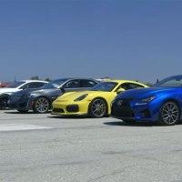 Das ultimative Sportwagen-Rennen