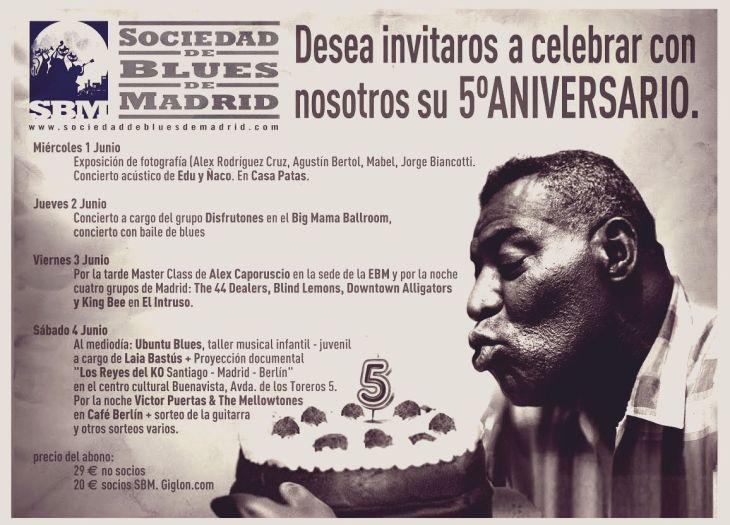 5º Aniversario de la Sociedad de Blues de Madrid