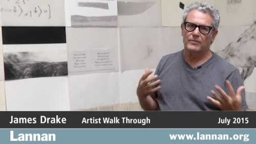 James Drake: Anatomy of Drawing and Space: Brain Trash gallery tour