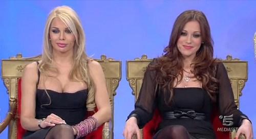 Giulia Monatanarini e Teresanna Pugliese foto