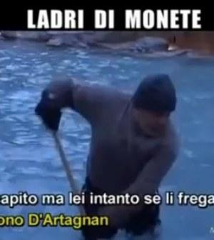 Le Iene Fontana di Trevi ladri di monete Roma