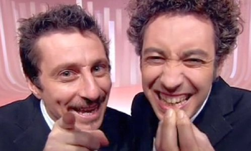 Foto Luca Bizzarri e Paolo Kessisoglu Le Iene Show