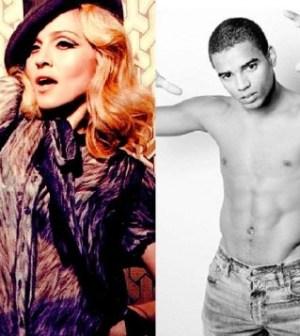 Foto di Madonna e il fidanzato Brahim Zaibat