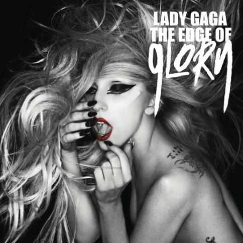 Lady Gaga The Edge of Glory Cover Single Foto