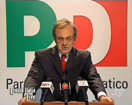 Maurizio Crozza Veltroni PD Foto