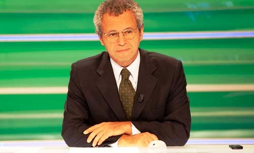 Enrico mentana direttore del TGLA7 Foto