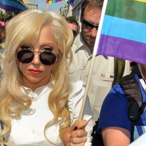 Lady Gaga goes gaga for gay rights in Washington DC