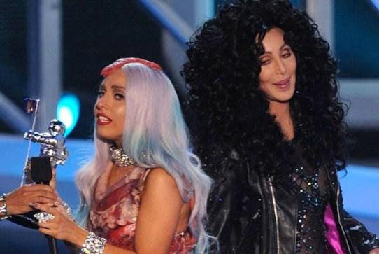 Cher e Lady Gaga Foto