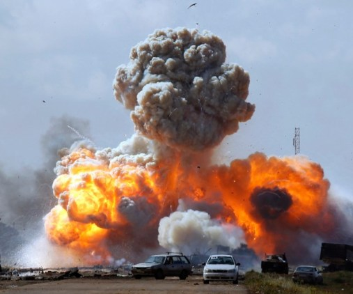 Guerra Libia Assedio Tripoli Foto