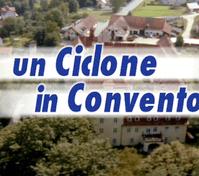 logo del telefilm un ciclone in convento