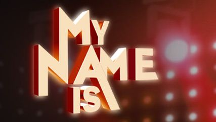 Logo My name is nuovo show Maria De Filippi