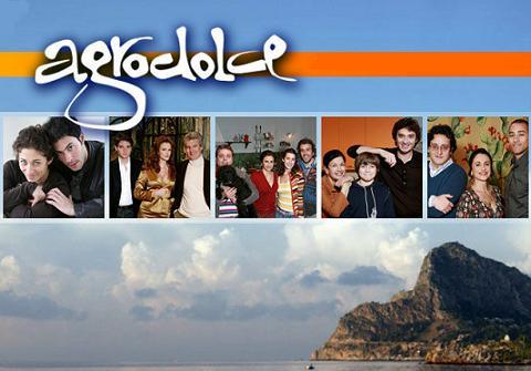 Agrodolce logo e cast fiction 2010