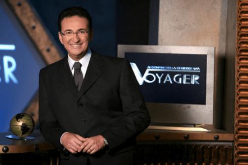 roberto giacobbo conduttore di Voyager Rai Due