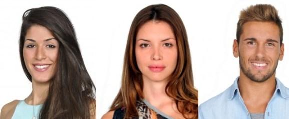 Adriana Peluso Ilenia Pastorelli e Danilo Novello concorrenti GF12 Foto