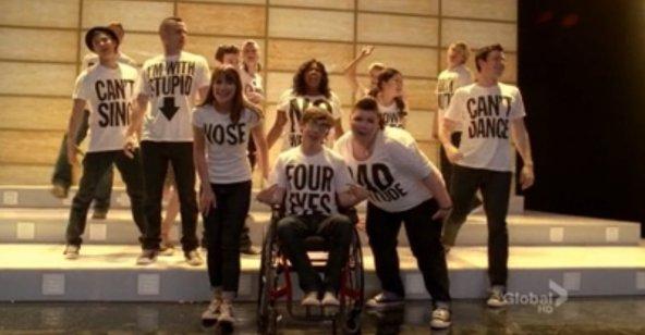 Coreografia Glee Born this way