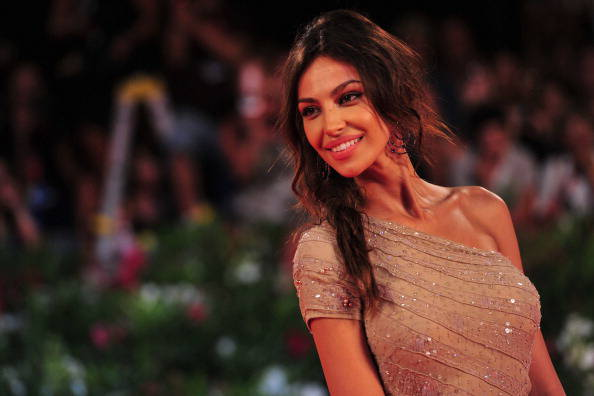 Foto Madalina Ghenea sul red carpet