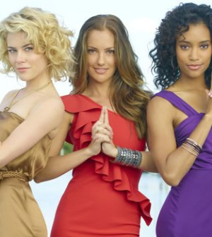 Le tre nuove Charlie's Angels foto