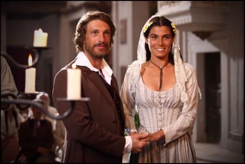 Foto Giorgio pasotti e Valeria Solarino nella fiction Anita Garibaldi