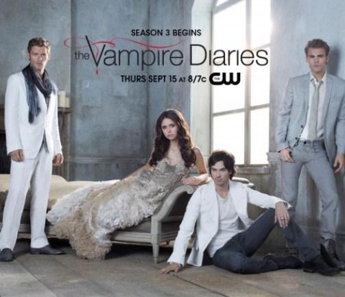 foto cast the vampire diaries 3