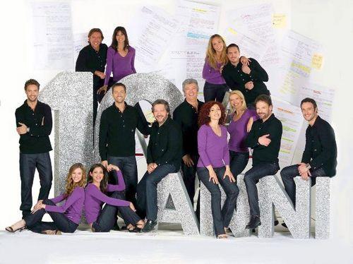 Foto Cast Centovetrine 10 anni