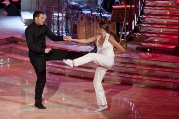 Vieri balla con Natalia Titova