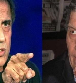 Adriano Celentano e Aldo Grasso diverbio sanremese