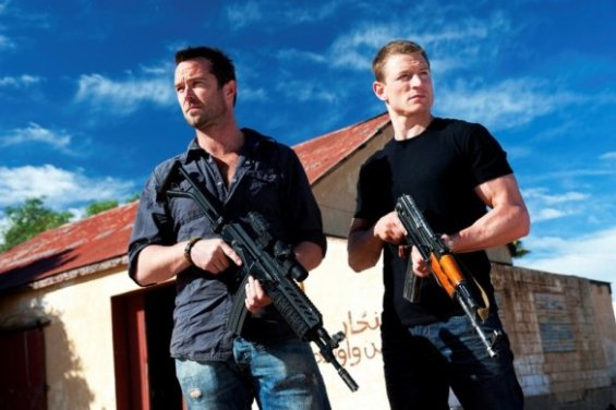 Sullivan Stapleton Philip Winchester Strike back project dawn