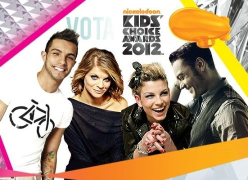 Kids Choice Awards 2012 Cantante italiano