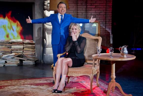 Piero Chiambretti Kate Winslet Wednesday Show
