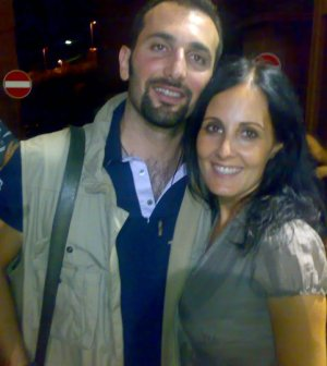 L'avvocato Canzona e Anna Orecchioni