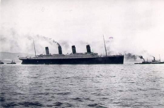il titanic nel 1910