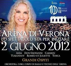 Arena di Verona Lo spettacolo sta per iniziare